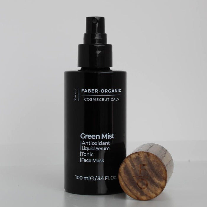 Green Mist Antioxidant Liquid serum - Tonic  - Face Mask