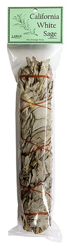 "California White Sage Smudge 9"" Length (Large)"