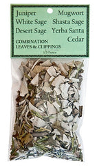 Combination Leaves & Clippings - 1/2 Ounce