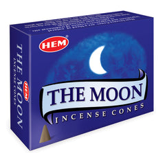 The Moon Incense Cones by HEM