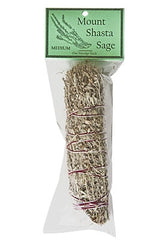 "Mount Shasta Sage Smudge 6.5"" Length (Medium)"
