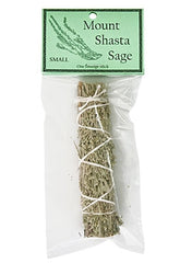 "Mount Shasta Sage Smudge 4.5"" Length (Small)"