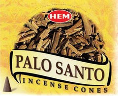 Palo Santo Incense Cones by Hem ~ Reiki-charged