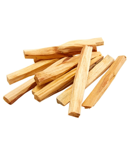 "Palo Santo Wood Sticks 4"" Length (Pack of 6 Sticks)"