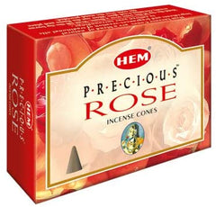 Precious Rose Incense Cones by Hem