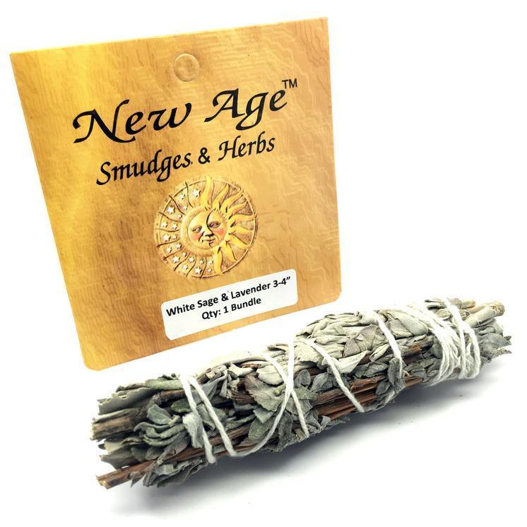 White Sage & Lavender Bundle by New Age Smudges & Herbs