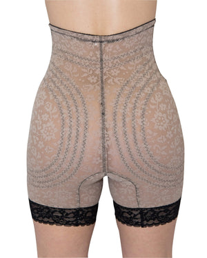 RAGO Style 6207 - High Waist Leg Shaper Extra Firm Shaping