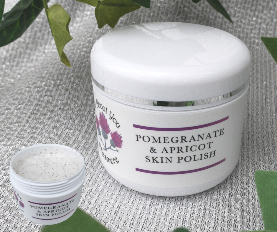 Pomegranate & Apricot face polish
