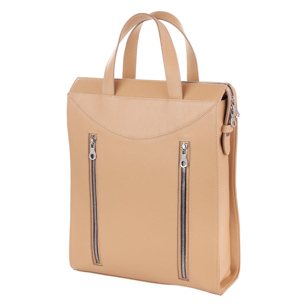 Tote Style Backpack - Sand Pebble