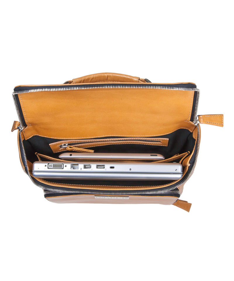 "Medium Laptop Pack 15"" - Calf Skin"