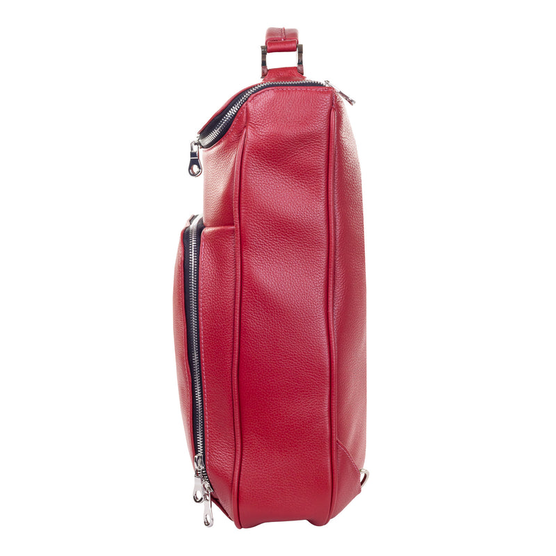 "Medium Laptop Pack 15"" - Red Pebble"