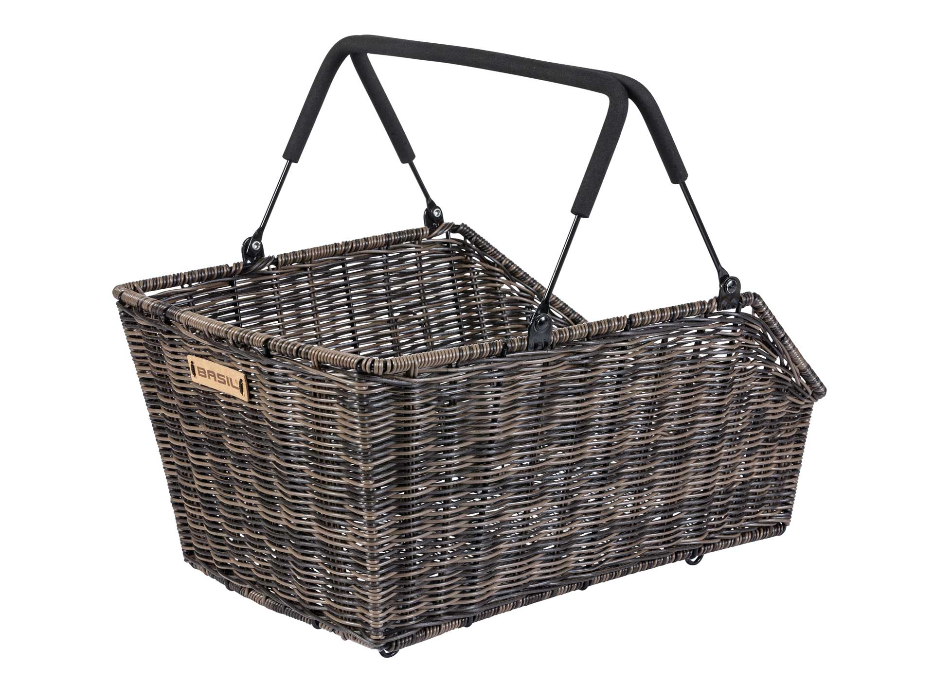 Basil Cento Rattan Look MIK Rear Basket