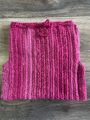 Large Pink Wool Cover