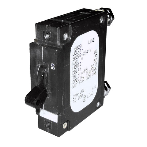Paneltronics 'C' Frame Magnetic Circuit Breaker - CE - 50 Amp - Single Pole [206-254]