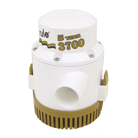 "Rule 3700 G.P.H. ""Gold Series"" Bilge Pump [13A]"
