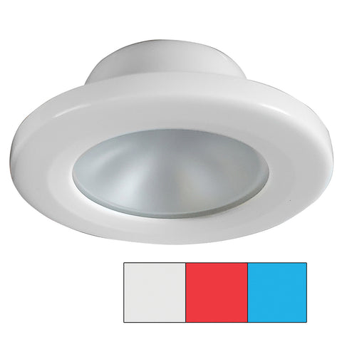 i2Systems Apeiron A3120 Screw Mount Light - Red, Cool White & Blue - White Finish [A3120Z-31HAE]