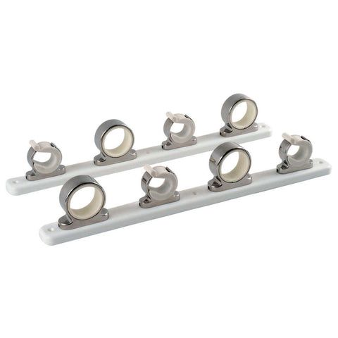 TACO 4-Rod Hanger w/Poly Rack - Polished Stainless Steel [F16-2752-1]