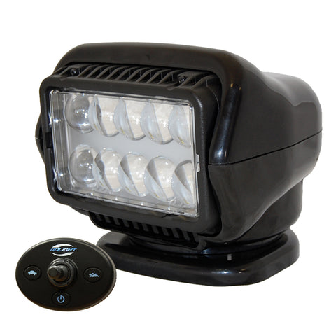 Golight LED Stryker Searchlight w/Wired Dash Remote - Permanent Mount - Black [30214]