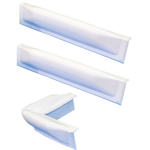 "Dock Edge 3 Piece Dock Bumper Kit - 1 Corner Piece, 2 18"" Straight Pieces [73-100-F]"