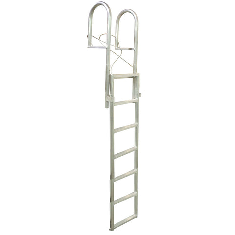 Dock Edge SLIDE-UP Aluminum 7-Step Dock Ladder [2037-F]