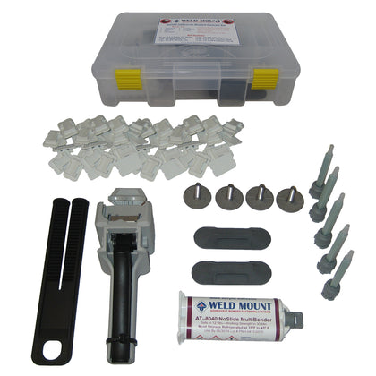Weld Mount Adhesively Bonded Fastener Kit w/AT 8040 Adhesive [65100]