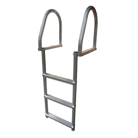 Dock Edge Aluminum 3-Step Eco Flip-Up Dock Ladder - Weld Free [2173-F]