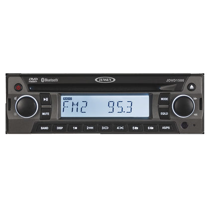 JENSEN JDVD1500 AM/FM/CD/DVD/Bluetooth Stereo [JDVD1500]