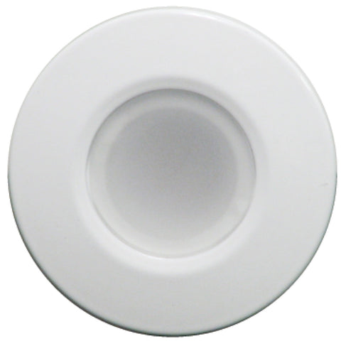 Lumitec Orbit Flush Mount Down Light - Blue Non-Dimming, Red Non-Dimming  White Dimming w/White Housing [112528]