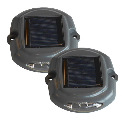Dock Edge Docklite Solar Dock & Deck Light - 2-Pack [96-262-F]
