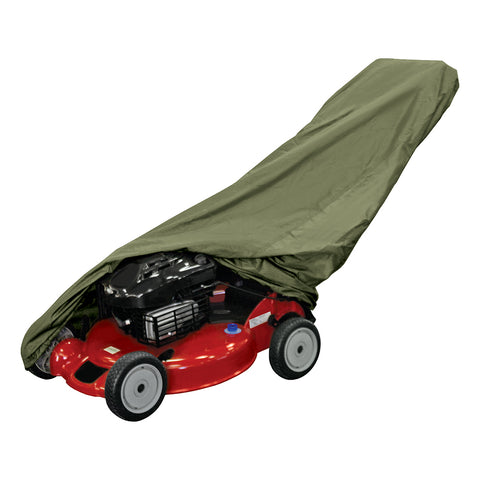 Dallas Manufacuring Co. Push Lawn Mower Cover - Olive [LMC1000S]