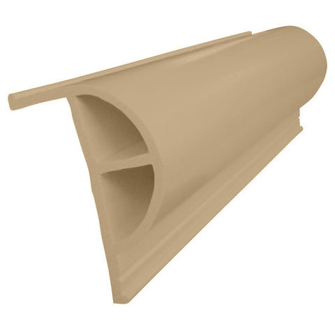 "Dock Edge PRODOCK Heavy ""P"" Dock Profile - 3x8' Sections - Beige [1201-F]"