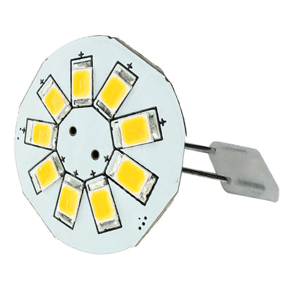 "Lunasea G4 Back Pin 0.9"" LED Light - Warm White [LLB-21BW-21-00]"