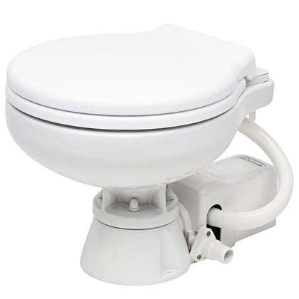 Johnson Pump AquaT Electric Marine Toilet - Super Compact - 12V [80-47626-01]