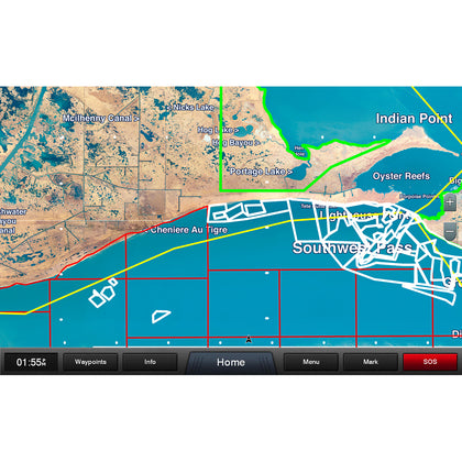 Garmin Standard Mapping - Louisiana West Professional microSD/SD Card [010-C1173-00]