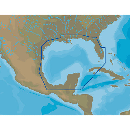 C-MAP 4D NA-D064 Gulf of Mexico - microSD/SD [NA-D064]