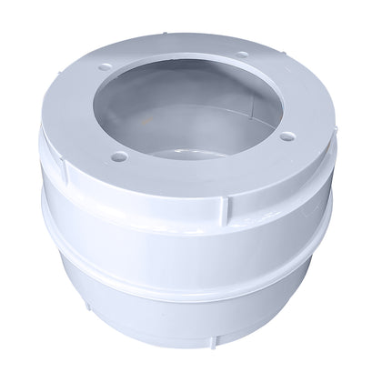 Edson Molded Compass Cylinder - White [856WH-345]