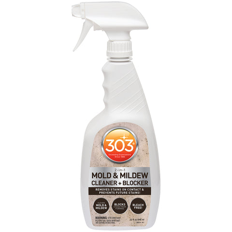 303 Mold  Mildew Cleaner  Blocker with Trigger Sprayer - 32oz *Case of 6* [30574CASE]
