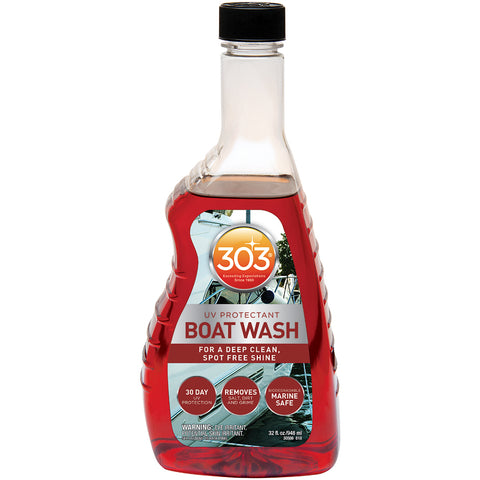 303 Boat Wash w/UV Protectant - 32oz * Case of 6* [30586CASE]
