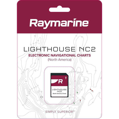 Raymarine LightHouse NC2 Chart - Electronic Navigational Charts - North America [R70740]