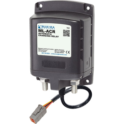 Blue Sea 7621100 ML ACR Charging Relay 24V 500A w/Deutsch Connector [7621100]
