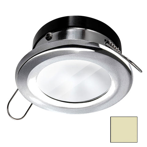 i2Systems Apeiron A1110Z Spring Mount Light - Round - Warm White - Brushed Nickel Finish [A1110Z-41CAB]