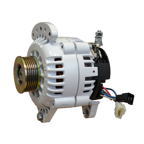 "Balmar Alternator 100 Amp 12V 3.15"" Dual foot Saddle Single K6 Pulley w/Isolated Grounding [60-120-K6]"