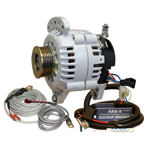 Balmar Alternator 120 Amp Saddle Mount ARS Regulator w/Temp Sensor Single K6 Pulley [60-YP-120-K6]