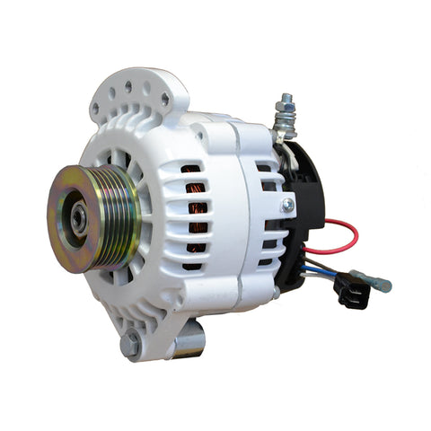 "Balmar Alternator 120 Amp 12V 1-2"" Single Foot Single K6 Pulley w/Isolated Grounding [621-120-K6]"
