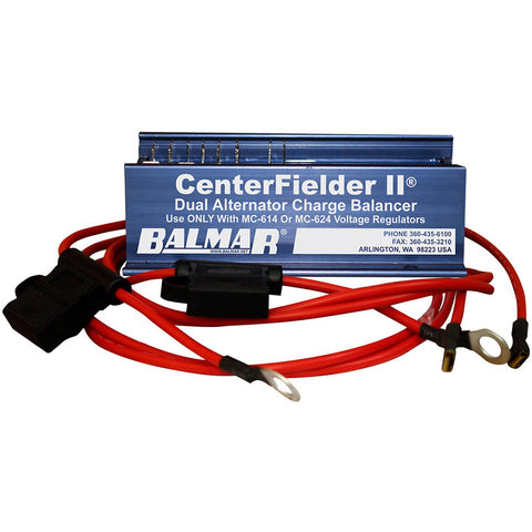 Balmar Centerfielder II 12/24V w/Wires - 2 Engines, 1 Bank [CFII-12/24]