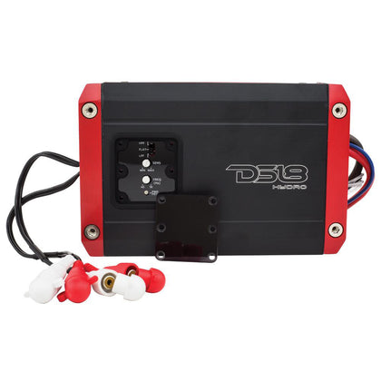 DS18 Hydro Full Range Digital Marine 2-Channel AMP - 600W [NXL-200.2D]
