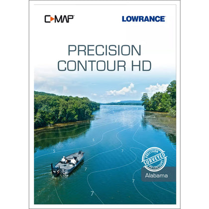 Lowrance C-MAP Precision Contour HD f/Alabama [M-NA-Y334-MS]
