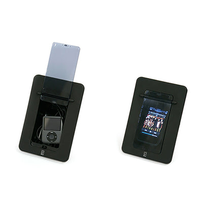 Poly-Planar Spa Side Smartphone Enclosure w/Door - Black [PM2]