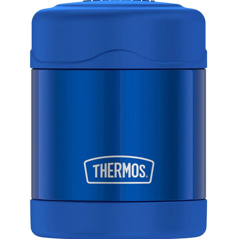 Thermos FUNtainer 10oz Stainless Steel Vacuum Insulated Food Jar 7 Hours Cold/5 Hours Hot - Blue [F30019BL6]