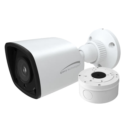 Speco 2MP HD-TVI Bullet Camera 2.8mm Lens - White Housing w/Included Junction Box [VLBT5W]